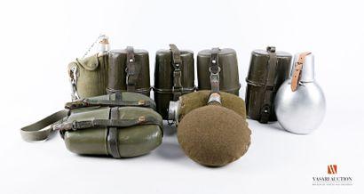 Allemagne et divers, équipements militaires:...