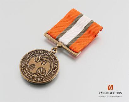 Médaille de la Force Nationale d'Observateurs...