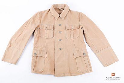 Veste tropicale Afrika Korps, fabrication...