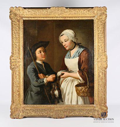 Atelier de Gaspard GRESLY (1712-1756)  Jeune...