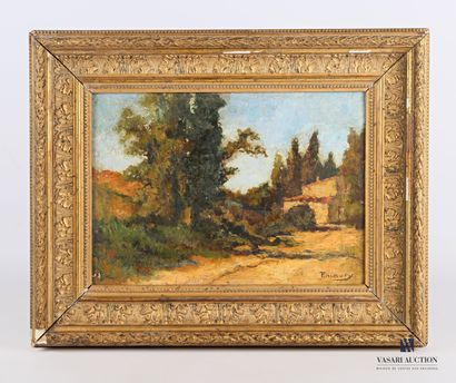 MAURY François (1861-1933)  Paysage provençale...