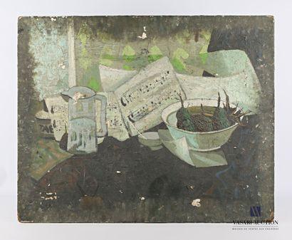 SOULAN Jean (1911-1972)  Nature morte à la...