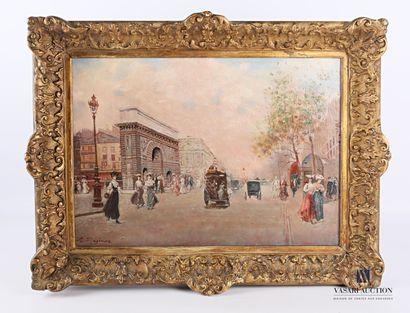 RAGIONE Raffaele (1851-1919).  Vue de la...