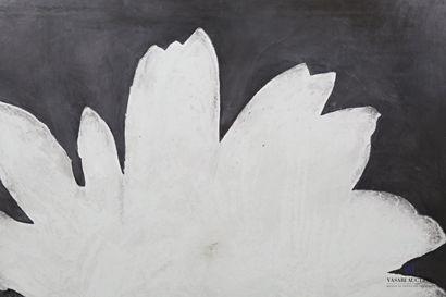 PASSANITI Francesco (né en 1952)  Fleur blanche...