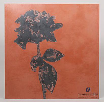 PASSANITI Francesco (né en 1952)  Fleur noire...