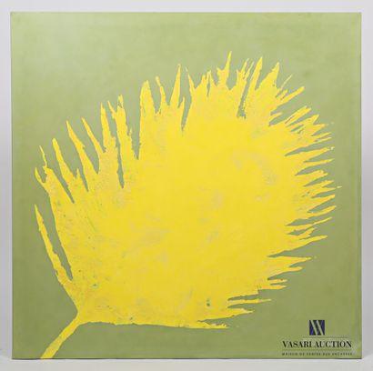 PASSANITI Francesco (né en 1952)  Fleur jaune...