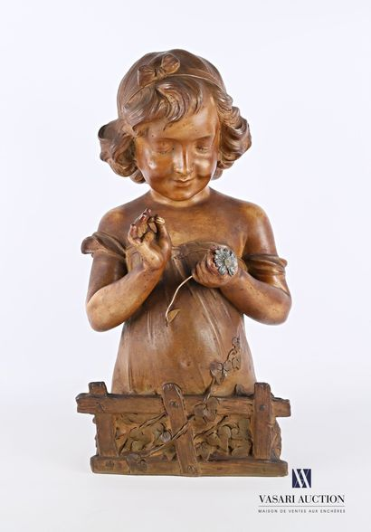 DE RANIERI Aristide (1865-1929)  Jeune fille...