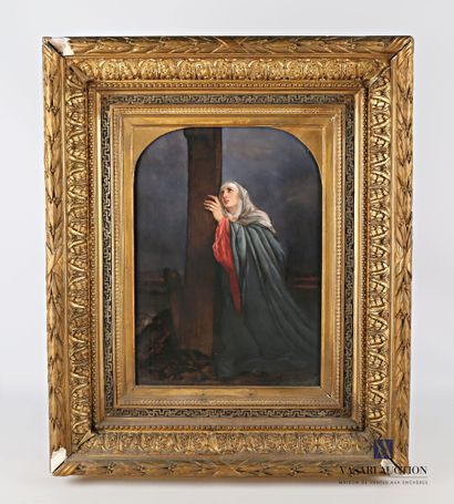DUFOUR Elisabeth  Vierge au pied de la Croix...