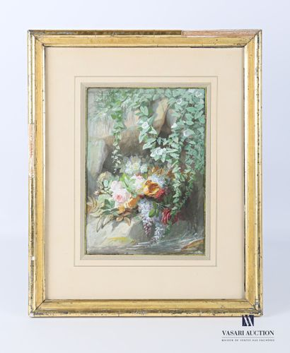 REIGNIER Jean-Marie (1815-1886)  Nature morte...