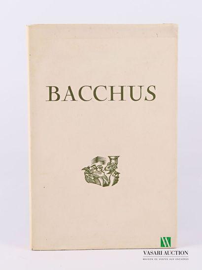 RANSAN André - Bacchus - Paris Maurice Ponsot...