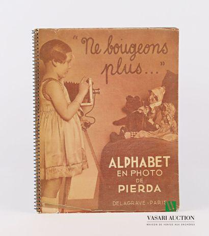 [JEUNESSE]  PIERDA - Alphabet en photo -...
