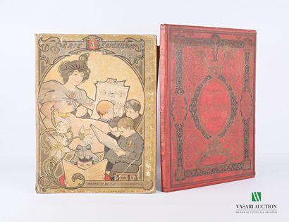 Lot comprenant deux ouvrages :  - VALLIER...