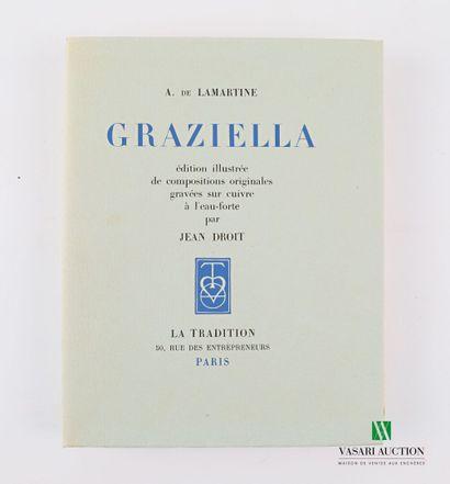 LAMARTINE A. de - Graziella - Paris la Tradition...