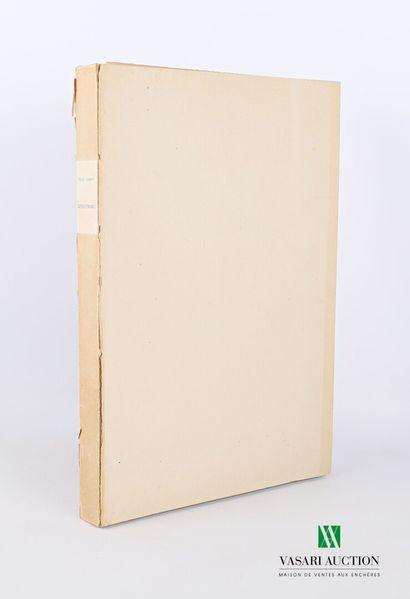 BONNARD Pierre - Correspondances - Editions...