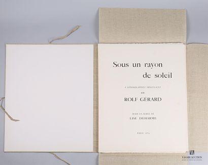 GERARD Rolf et texte de Lise Deharme - Sous...