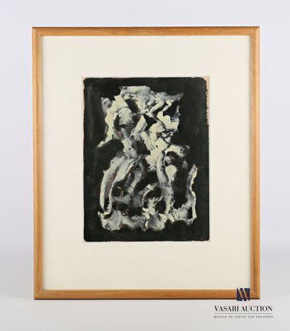 REIGNER L.? (XXème siècle)  Composition abstraite...