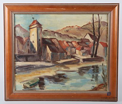 PERPREUIL (XXème siècle)  Vue de village...