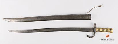 Sabre-baïonnette CHASSEPOT modèle 1866, lame...