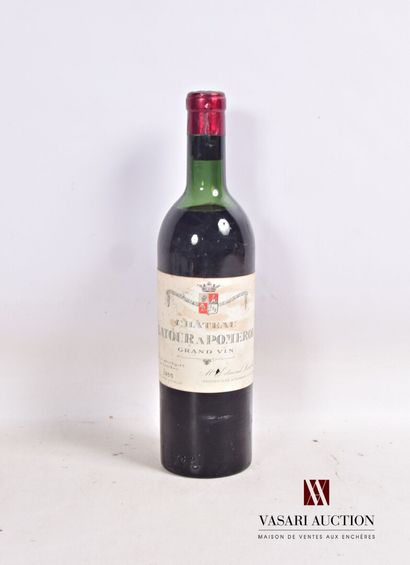 1 bouteilleChâteau LATOUR A POMEROLPomerol1955...