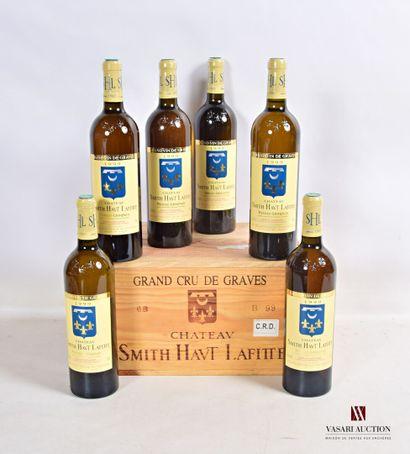 6 bouteillesChâteau SMITH HAUT LAFITTEGraves...