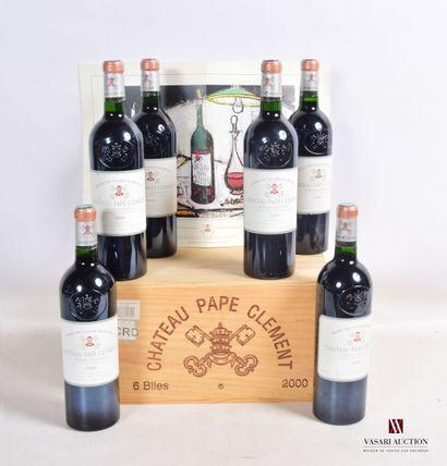 6 bouteillesChâteau PAPE CLÉMENTGraves...