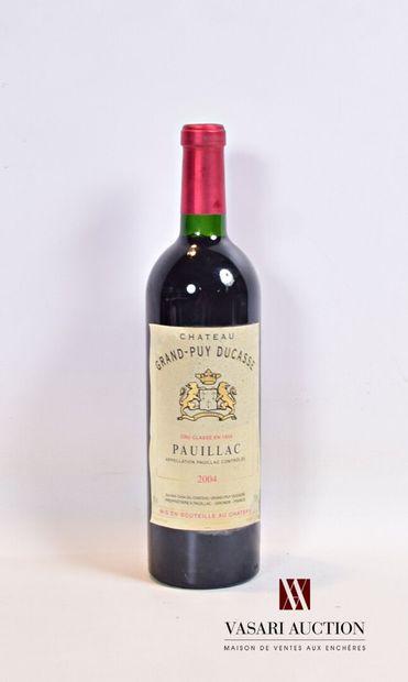 1 bouteilleChâteau GRAND PUY DUCASSEPauillac...