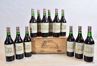 12 bouteillesChâteau HAUT BRIONGraves 1er...