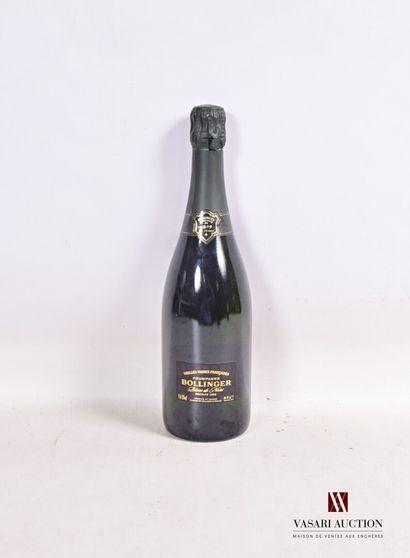 1 bouteilleChampagne BOLLINGER Vieilles...
