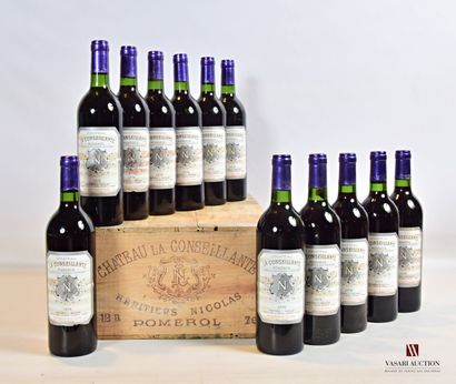 12 bouteillesChâteau LA CONSEILLANTEPomerol1976...