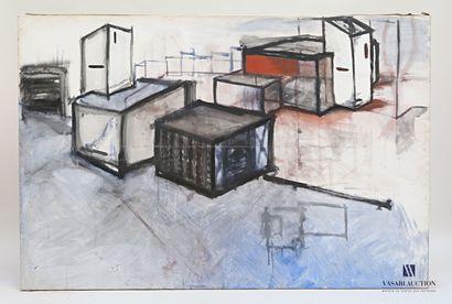 PASSANITI Francesco (né en 1952)  Constructions...