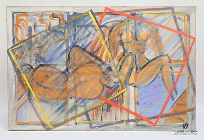 PASSANITI Francesco (né en 1952)  Nus  Huile...
