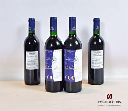4 bouteillesChâteau VIEUX ROBIN