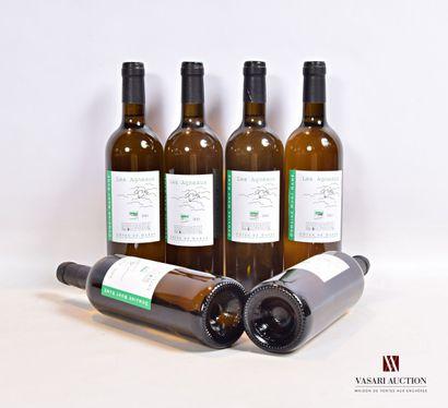 6 bouteillesDomaine MONT RAMÉ blanc