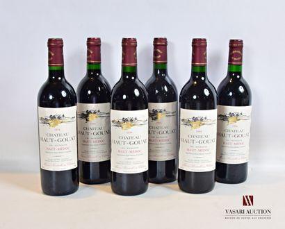 6 bouteillesChâteau HAUT-GOUATHaut Médoc...