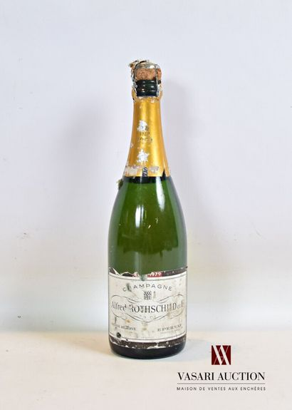 1 bouteilleChampagne ALFRED ROTHSCHILD Brut...