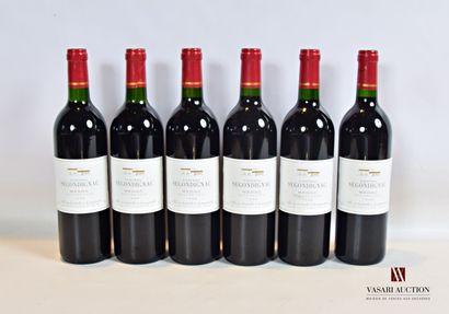 6 bouteillesChâteau de SEGONDIGNACMédoc1998...