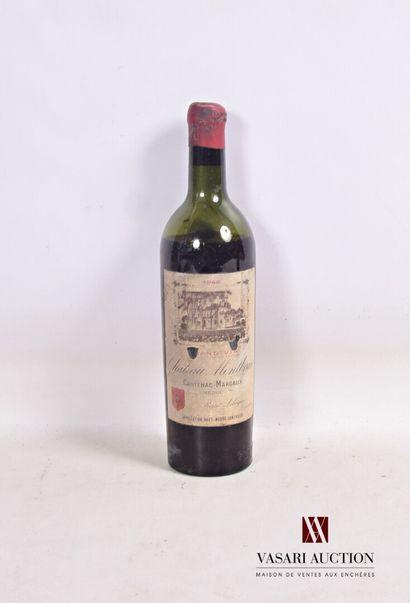 1 bouteilleChâteau MONTBRUNHaut Médoc1946...