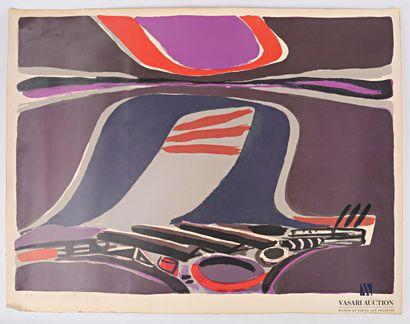 CÉLICE Pierre (1932-2019)  Composition abstraite...