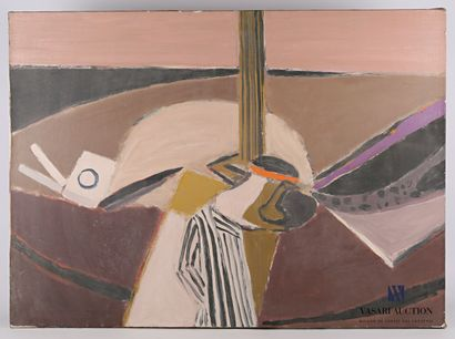 CÉLICE Pierre (1932-2019) attribué à  Composition...