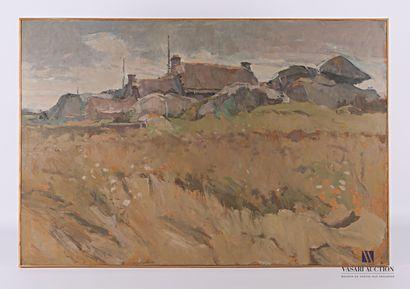 BUREL Jacques (1922-2000)  La Maison de Salon...