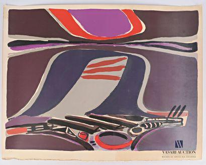 CÉLICE Pierre (1932-2019)  Composition en...