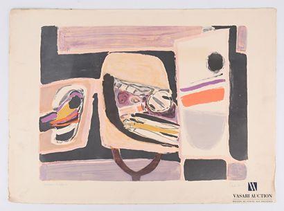 CÉLICE Pierre (1932-2019)  Les Savis de l'atelier...