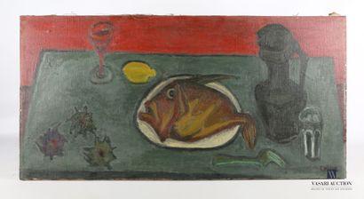 CÉLICE Pierre (1932-2019)  Nature morte au...