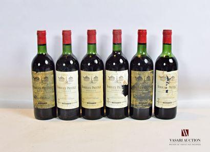 6 bouteillesBORDEAUX PRESTIGEBordeaux mise...
