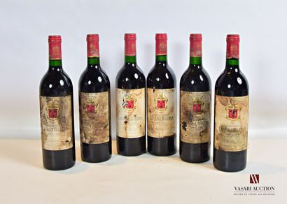 6 bouteillesChâteau LANGOA BARTONSt Julien...