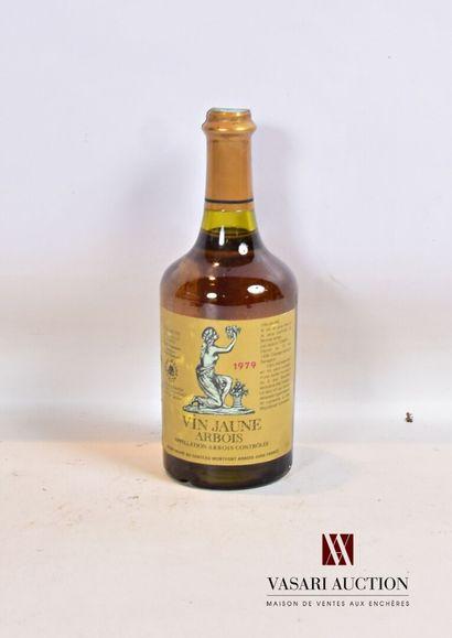 1 bouteilleVIN JAUNE mise H. Maire1979...