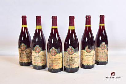 6 bouteillesFIXIN Clos du Chapitre Domaine...