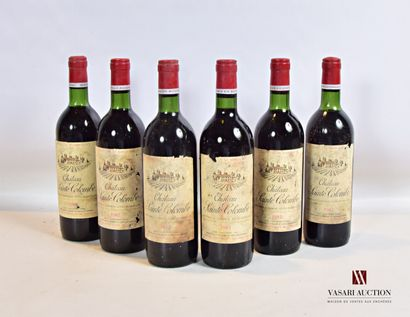 6 bouteillesChâteau SAINTE COLOMBECôtes...