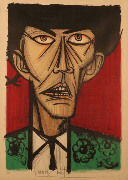 BUFFET Bernard (1928-1999) Le matador Lithographie...