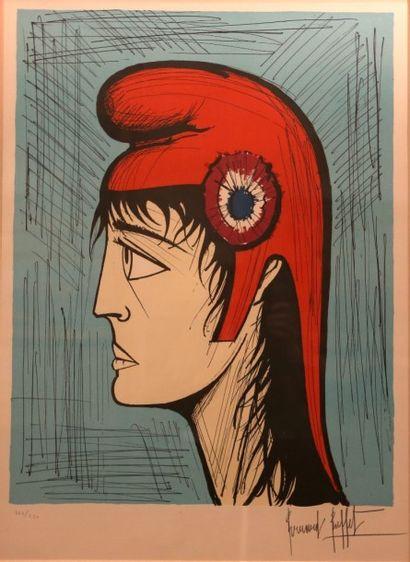 BUFFET Bernard (1928-1999) Marianne Lithographie...